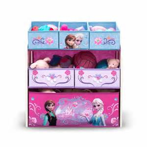 Frozen Bedroom Set Frozen Toy Storage With 6 Bin Organizer Featuring Disney