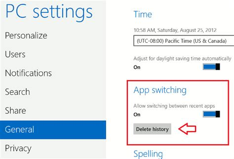 is there a way to delete app history on iphone 6 more tweaks to make life easier in windows 8