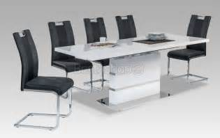 table rectangulaire avec rallonge design
