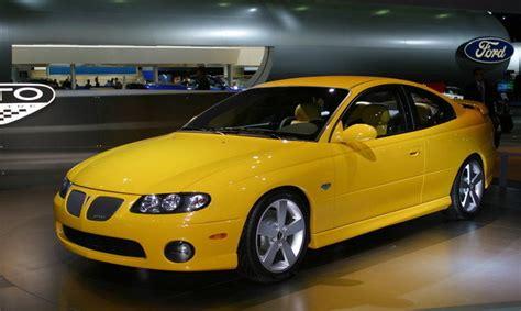 pontiac gt 2003 1964 2003 pontiac gto history review top speed