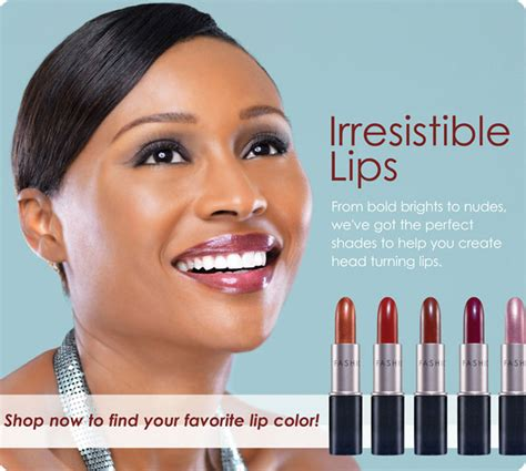 cynthia bailey lipstick colors cynthia bailey fashion fair ad