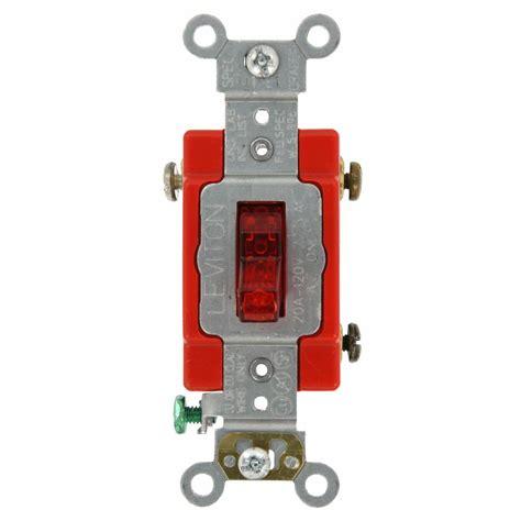 light switch lock home depot leviton 1221 2r 20 amp 120 277 volt toggle single pole
