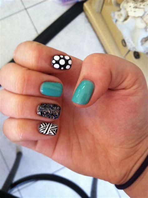 easy nail art with gel polish cute multi design nail art gel polish stuff from work as