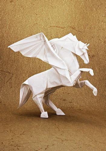 tutorial origami pegasus best 25 origami horse ideas on pinterest origami paper