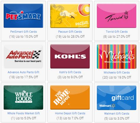 Gift Card At Discount - save even more on shopping with discounted gift cards mylitter one deal at a time