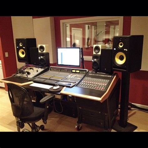 17 Best Images About Home Recording Studios On Pinterest Recording Studio Computer Desk