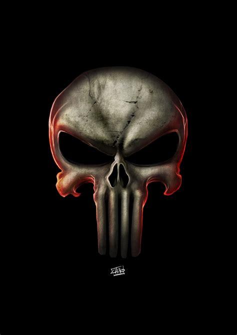 Promo Emblem Logo Tengkorak Punisher Stiker Metal Mobil Sticker Motor punisher logo by manudgi on deviantart
