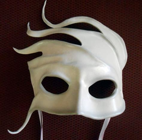 Handmade Masks - handmade leather mask wind spirit