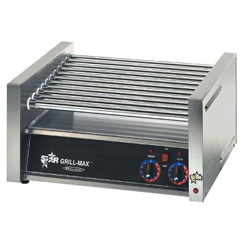 dog house grill prices star 30c 30 hot dog roller grill slanted top 120v