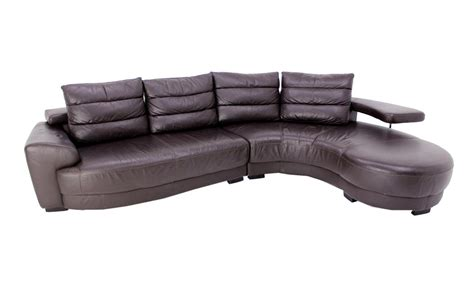 Italian Sectional Sofas by Lanouva Vintage Italian Leather Sectional Sofa Ebay