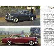 Bentley Continental Brochure
