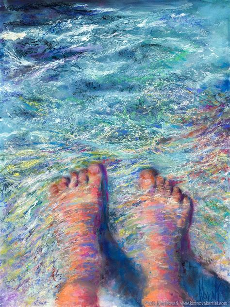 water painting novak artist