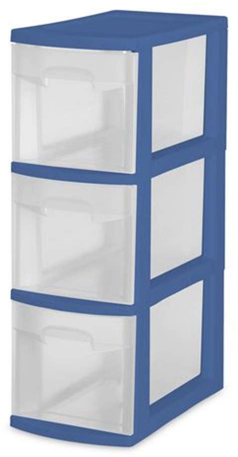 Narrow Plastic Storage Drawers by Sterilite Narrow 3 Drawer Tower Walmart Ca