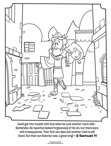 sunday school coloring pages king david kids coloring page from what s in the bible featuring