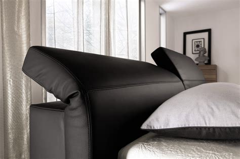 bed headrest elumo ii bed with adjustable headrest by h 252 lsta werke h 252 ls