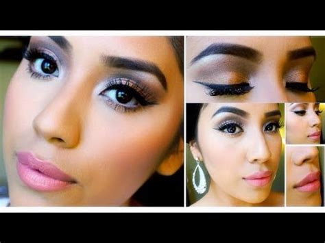 tutorial makeup bridesmaid neutral prom makeup tutorial 2014 bridesmaid makeup