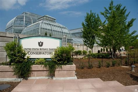 National Botanical Gardens Dc U S Botanic Garden Conservatory Architect Of The