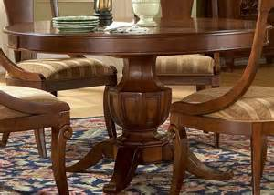cotswold manor round dining table dining room furniture set by liberty furniture