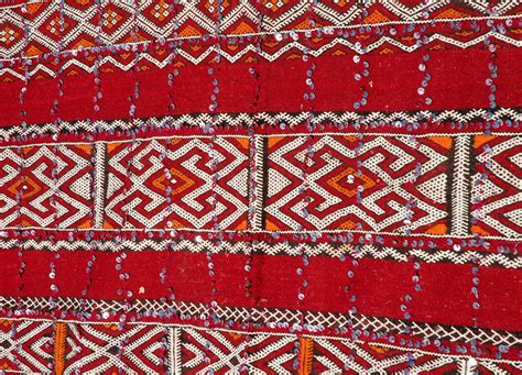 moroccan tribal rugs moroccan tribal wedding rug with sequins for sale at 1stdibs