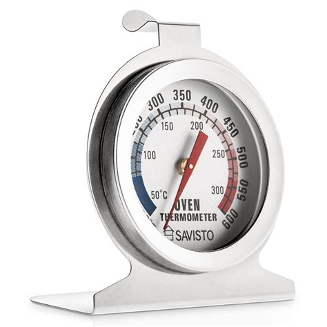 Termometer Oven savisto stainless steel oven thermometer temperature for pizza ovens ebay
