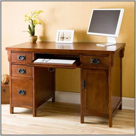 mission style computer desk craftsman style computer desk desk home design ideas