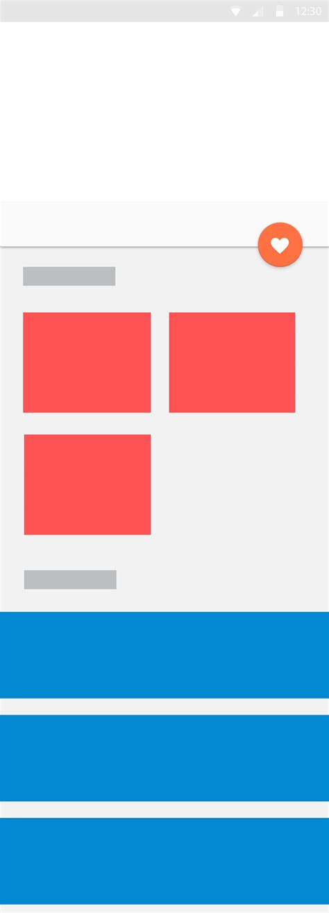 recyclerview layout manager custom android different layout managers in an activity stack