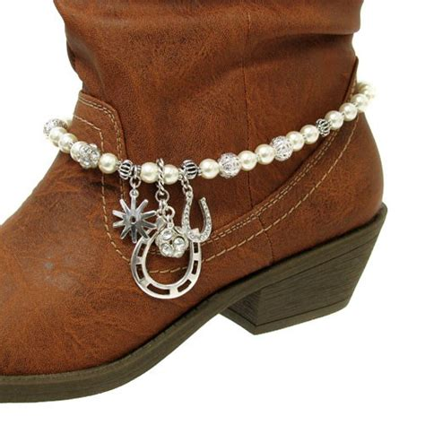 how to make boot jewelry horseshoe charms western cowboy boot jewelry