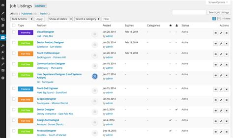 wp job manager a free extensible job board plugin for
