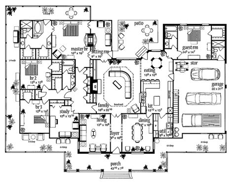american home design gallery larbrook early american home plan 032d 0722 house plans