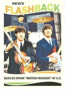 the beatles trading cards included in 2013 topps heritage