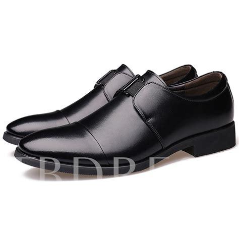 Low Heel Oxfords plain square low heel toe slip on s oxfords