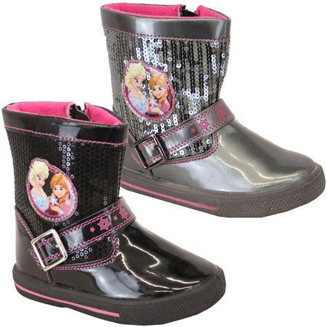 frozen boots frozen snow boots disney elsa sequins