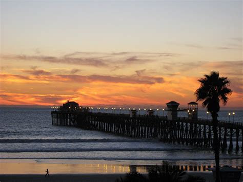 service oceanside ca panoramio photo of oceanside ca pier at sunset