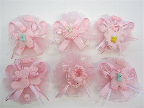 How To Make Baby Shower Pins by Set Of Three Baby Shower Corsage Pin On By
