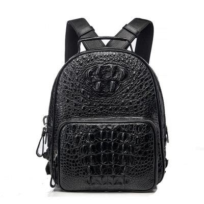 crocodile backpack, alligator backpack