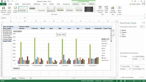 excel 2007 format all data labels at once how to add a title to a pivot chart in excel 2007 learn