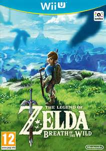 legend zelda breath wild wii jeux nintendo