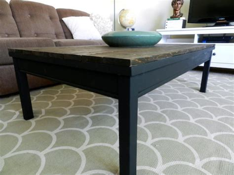 Coffee Table Hack Schultz Rustic Coffee Table Ikea Hack