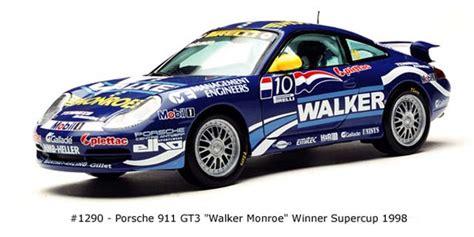 Diecast Sunstar 1 18 1291 Porsche 911 Gt3 Teldafax No 25 sun 1998 porsche 911 gt3 walker 1290 in 1