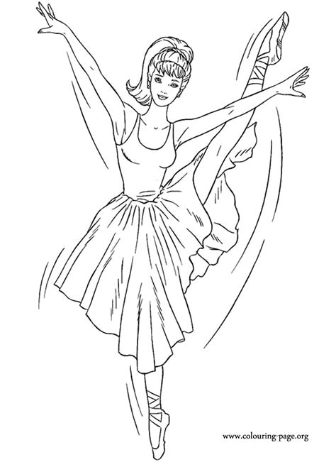beautiful ballerina coloring pages in this coloring pages barbie is dressed like a beautiful