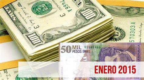 cuanto es 100000 pesos mexicanos en dollares yahoo precio del dolar hoy enero 2015 dolar vs peso colombiano