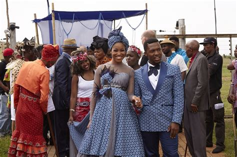 in the on the move ashes to ashes tsietsi and mpho s seshweshwe wedding