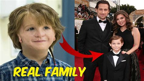 boy actor movie wonder real family of wonder actors youtube
