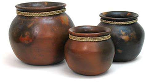 Mexican Planter by Mexican Terra Cotta Clay Pottery