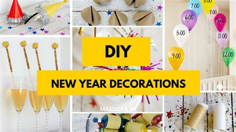 new year home decorations diy 50 best diy new year decorations for home