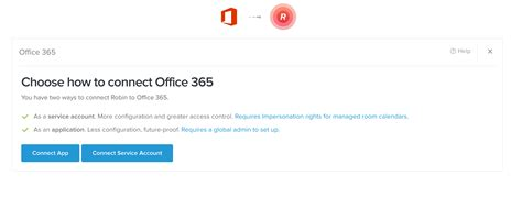 Connect To Office by How To Connect A Service Account For Office Robin At