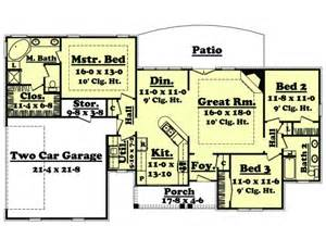 1600 Sq Ft Floor Plans by 1600 Sq Ft House Plan Melissa 16 002 315 From