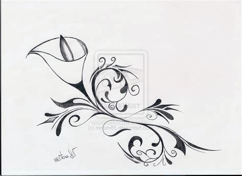 calla lily flower tattoo designs calla tattoos on lilies orchid