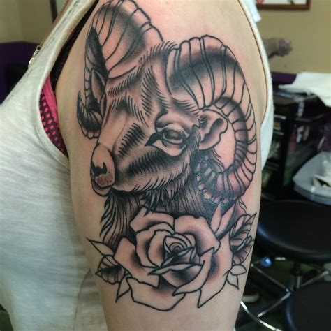 aries ram tattoo awesome aries designs design trends premium psd