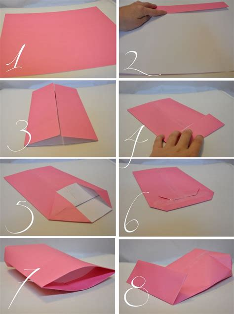 Steps To Make Handmade Paper Bags - gift bags diy gift ideas